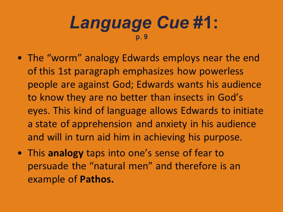 Language Cue #1: p. 9