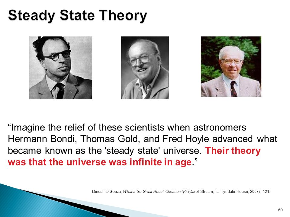 Steady State Theory