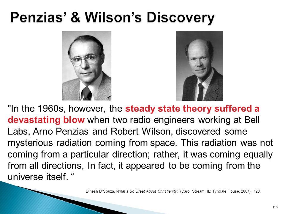 Penzias' & Wilson's Discovery
