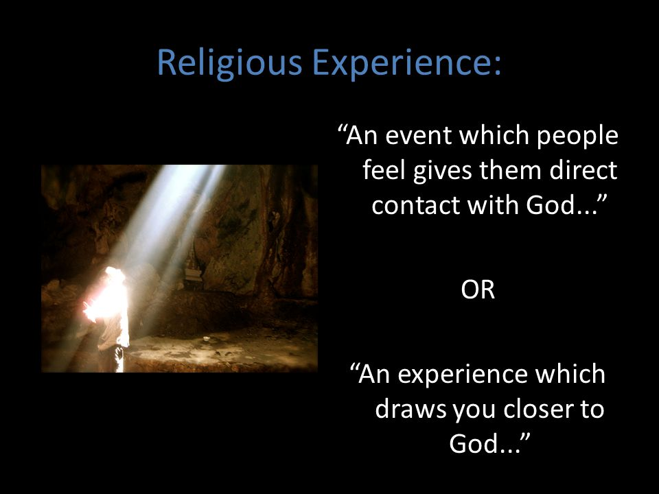 Religious Experience: