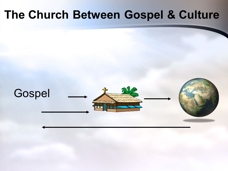 The Church Between Gospel & Culture