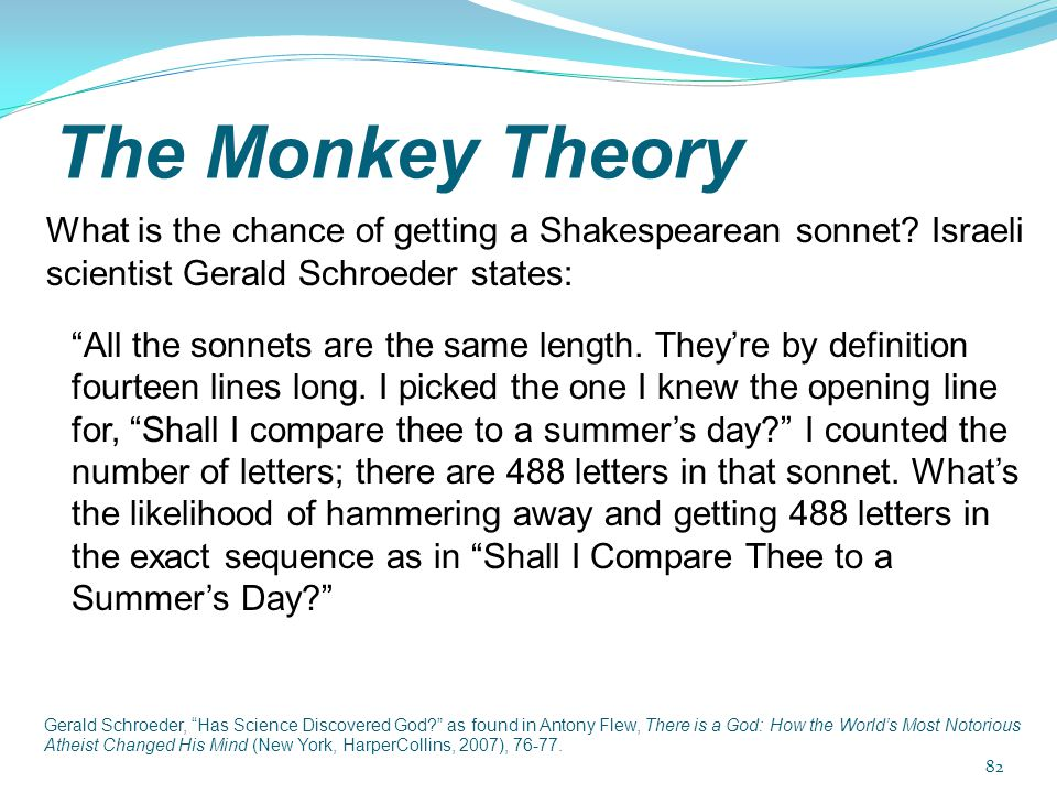 The Monkey Theory