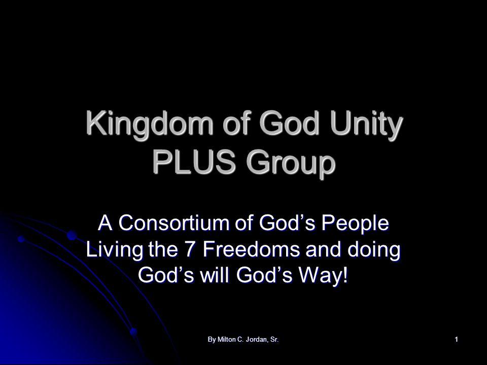 Kingdom of God Unity PLUS Group