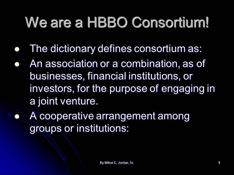 We are a HBBO Consortium!