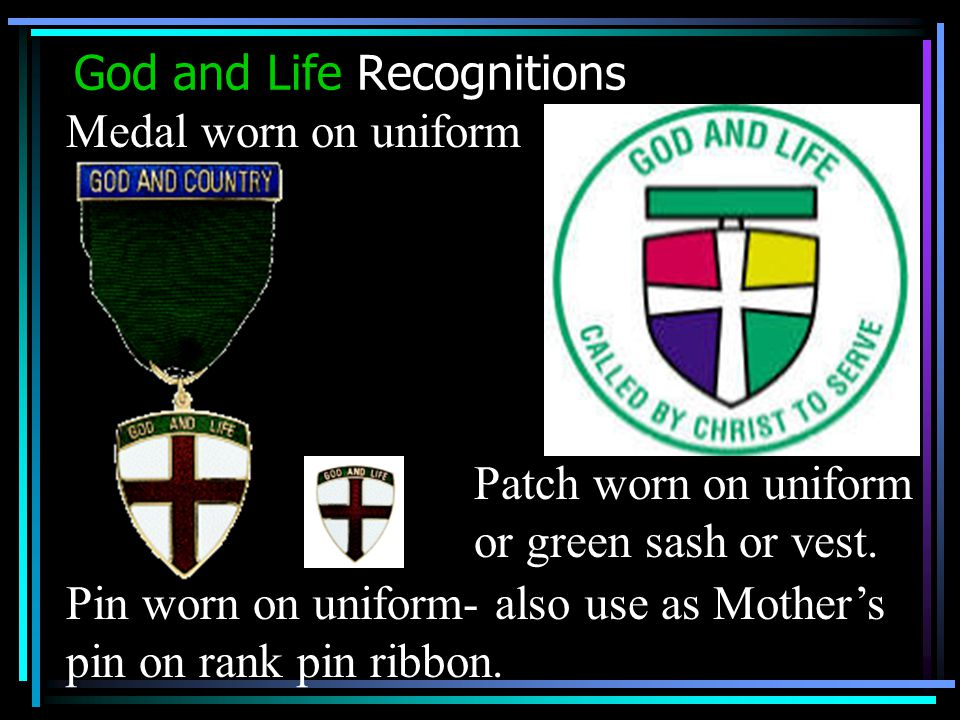 God and Life Recognitions