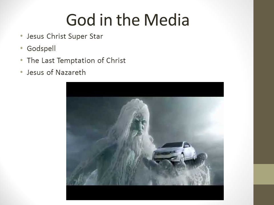 God in the Media Jesus Christ Super Star Godspell