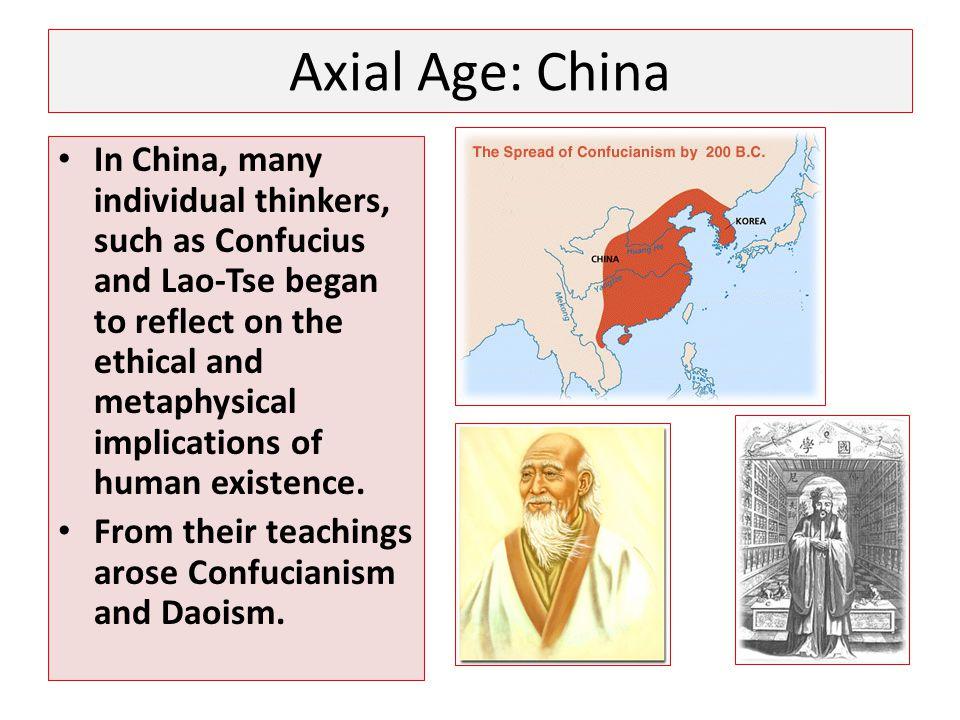 Axial Age: China