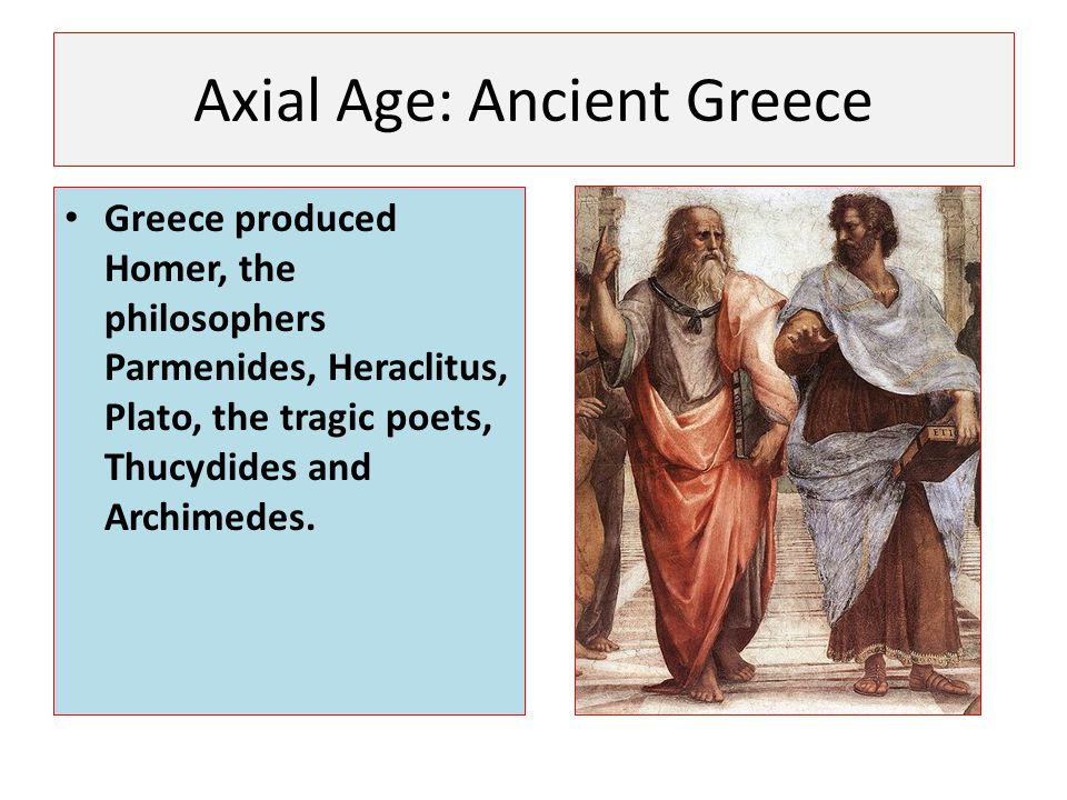Axial Age: Ancient Greece