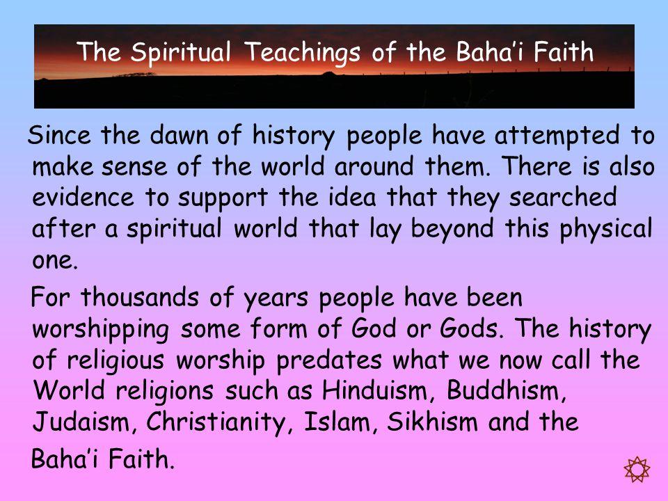 The Spiritual Teachings of the Baha'i Faith