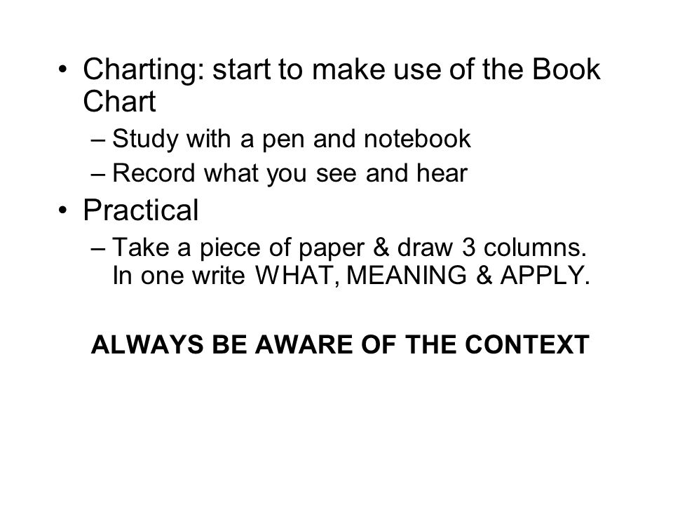 Charting: start to make use of the Book Chart