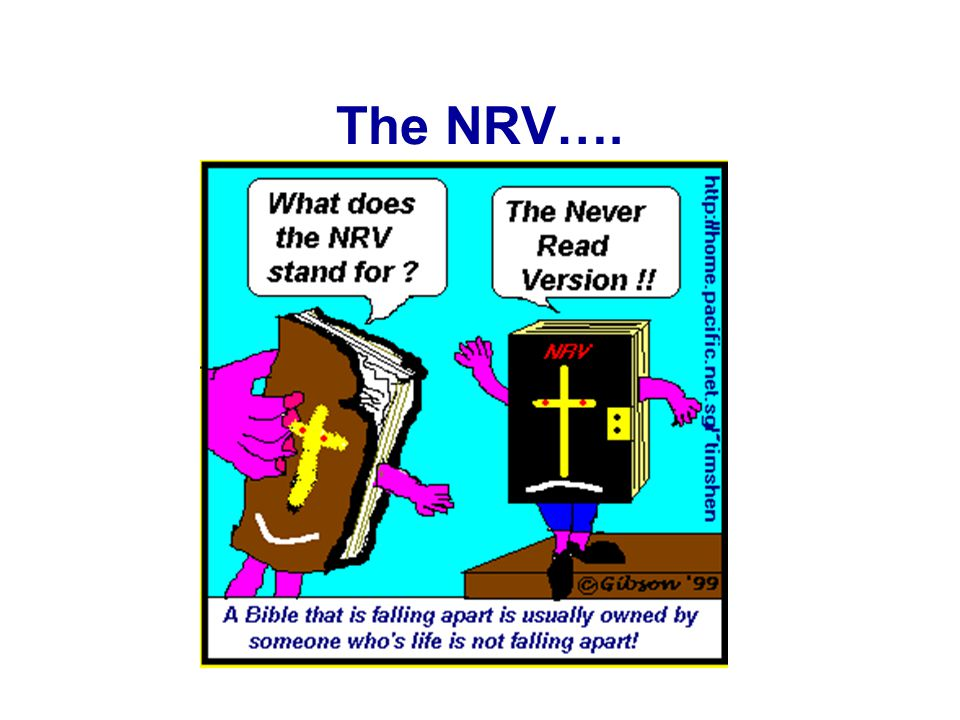 The NRV….
