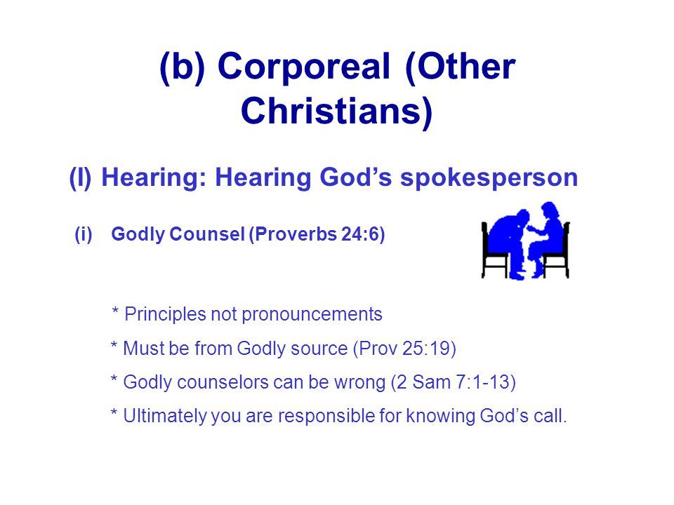 (b) Corporeal (Other Christians)