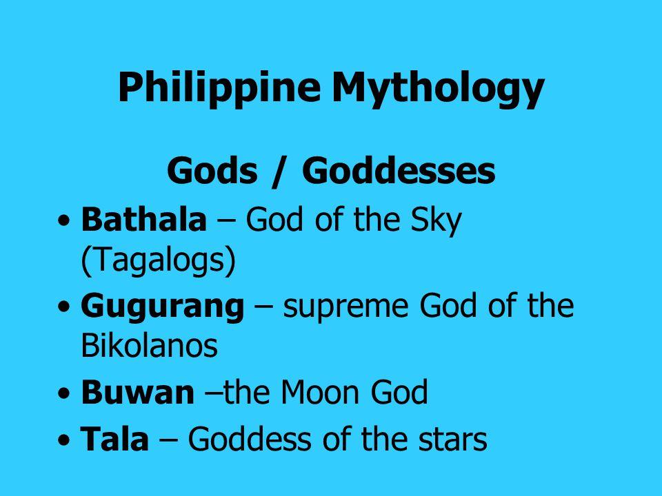 Philippine Mythology Gods / Goddesses