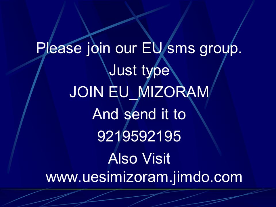 Please join our EU sms group