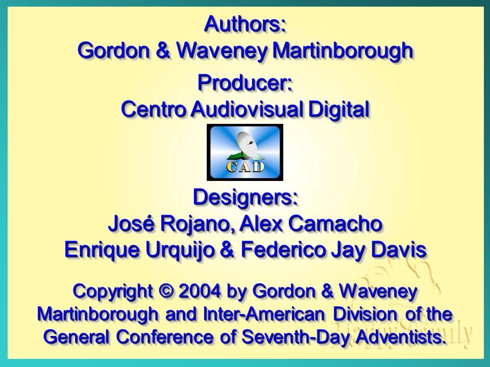 Authors: Gordon & Waveney Martinborough