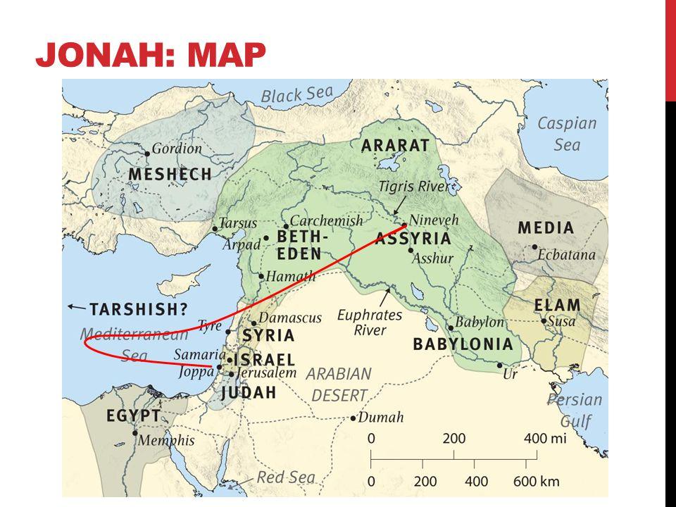 Jonah: map
