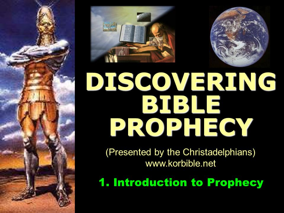 DISCOVERING BIBLE PROPHECY