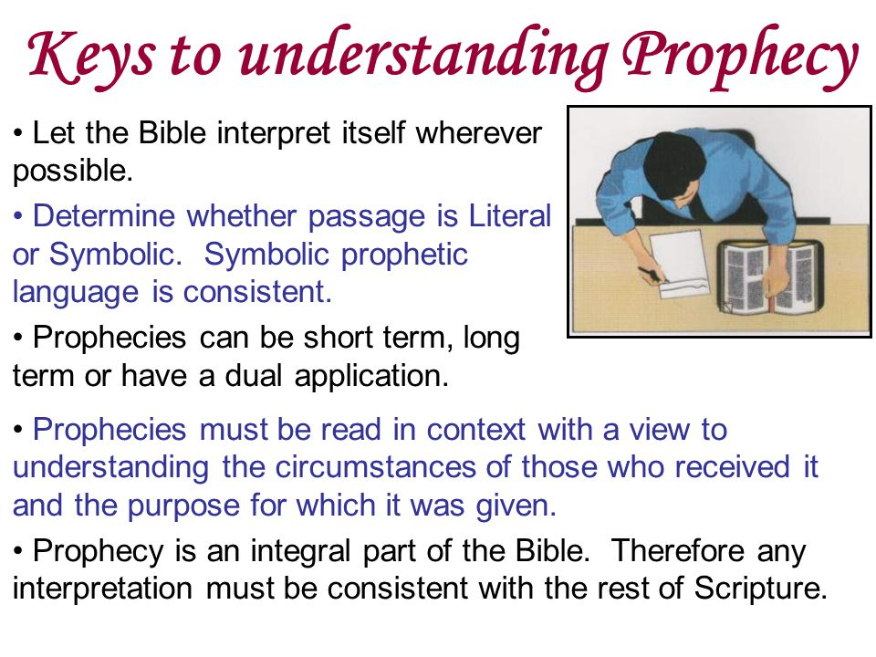 Keys to understanding Prophecy