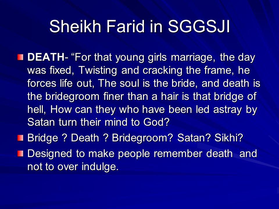 Sheikh Farid in SGGSJI