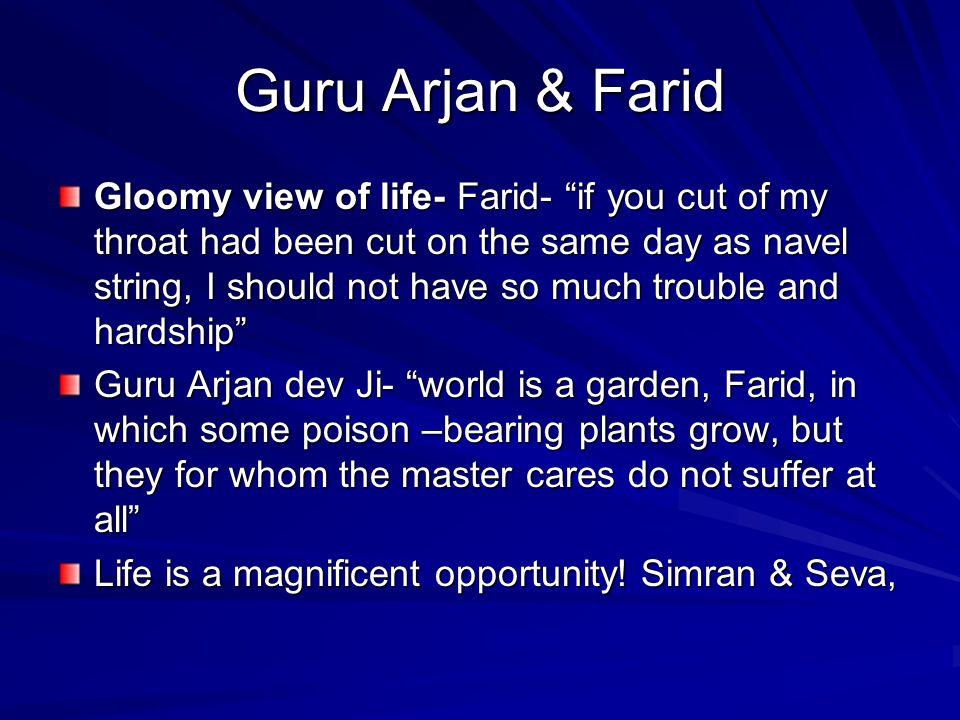 Guru Arjan & Farid