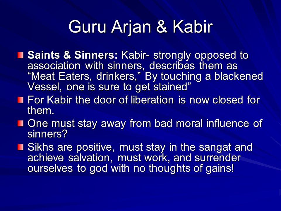 Guru Arjan & Kabir