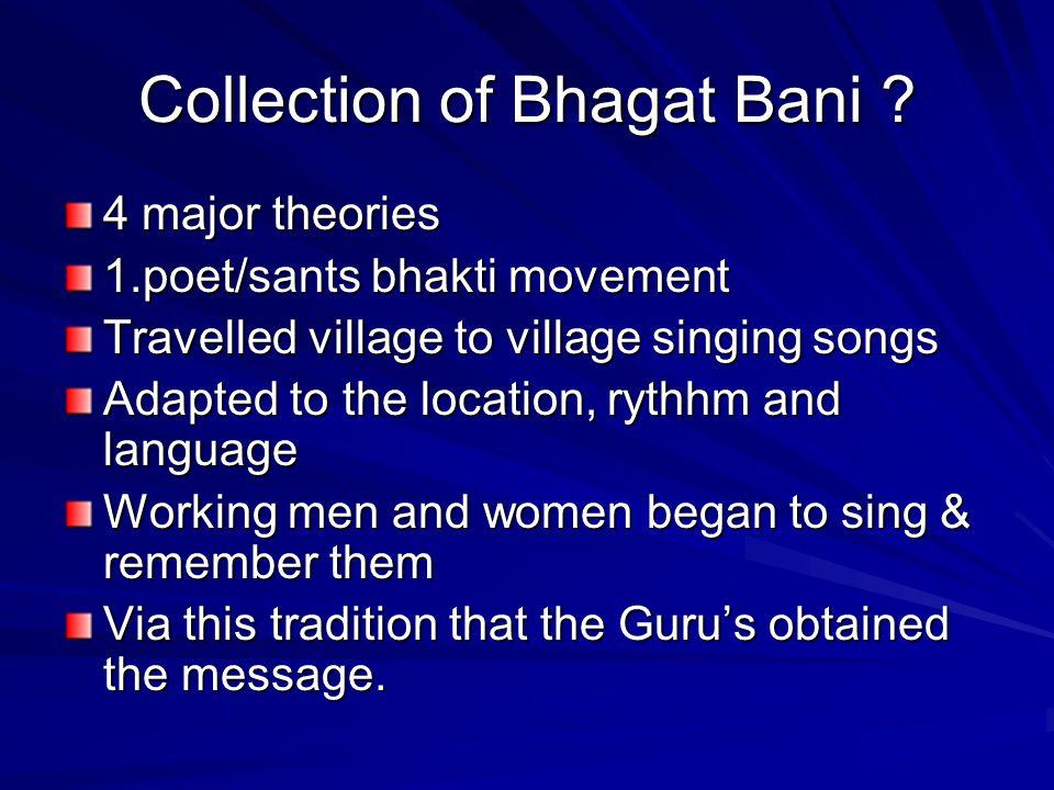 Collection of Bhagat Bani