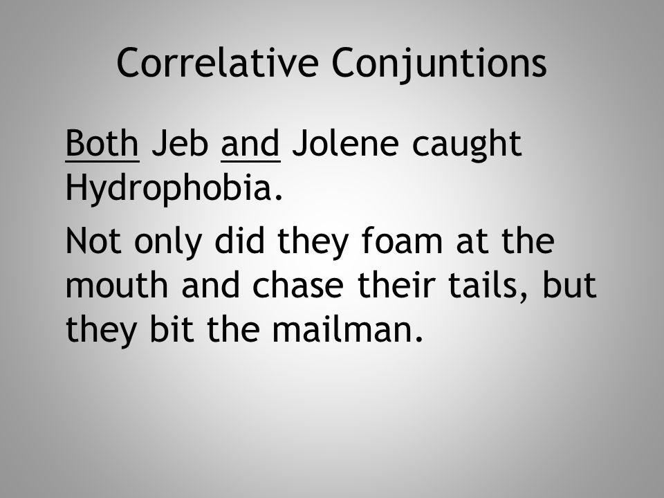 Correlative Conjuntions