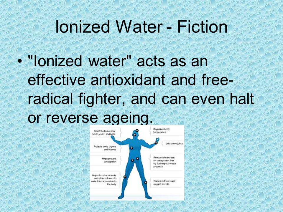 Ionized Water - Fiction
