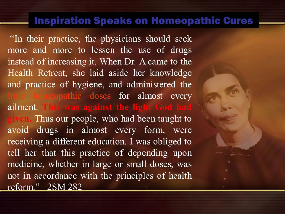 Inspiration Speaks on Homeopathic Cures