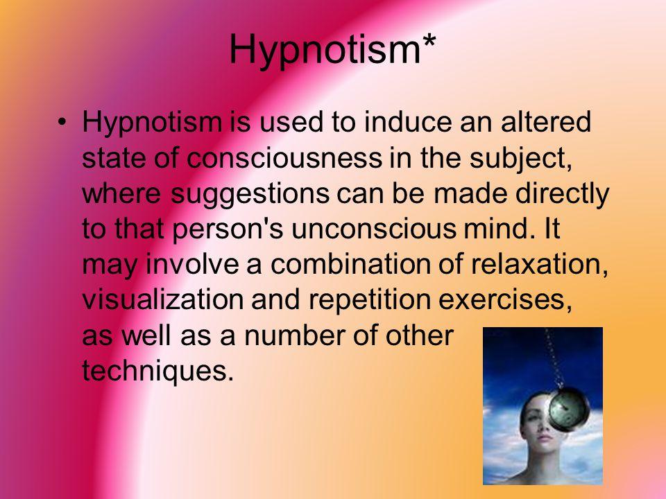 Hypnotism*