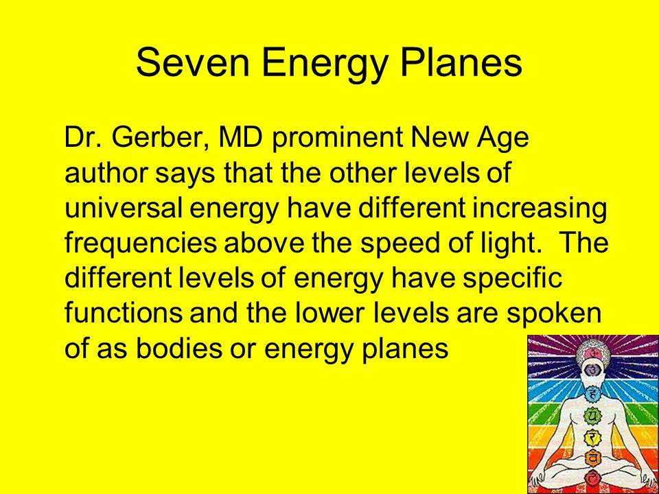 Seven Energy Planes