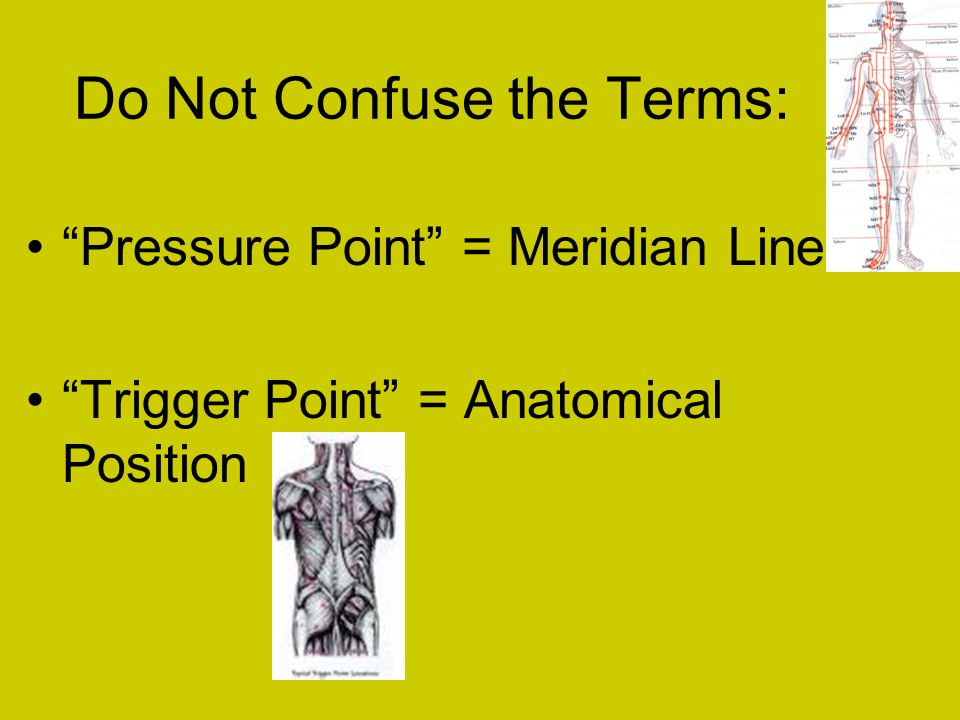 Do Not Confuse the Terms: