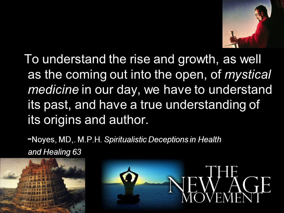 -Noyes, MD,. M.P.H. Spiritualistic Deceptions in Health