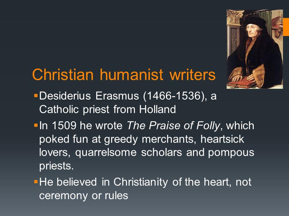 Christian humanist writers