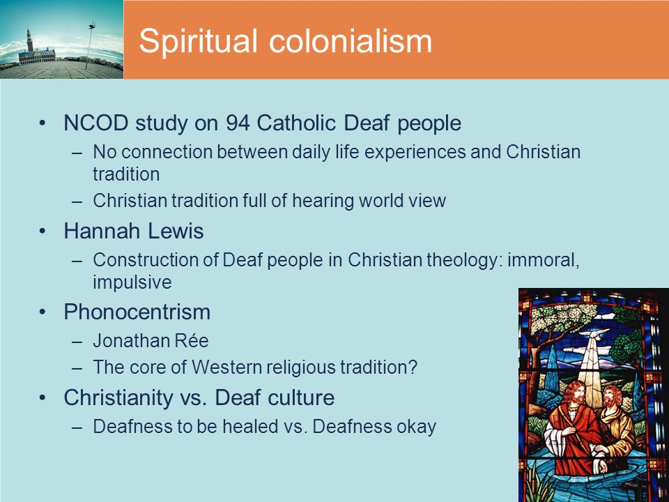 Spiritual colonialism
