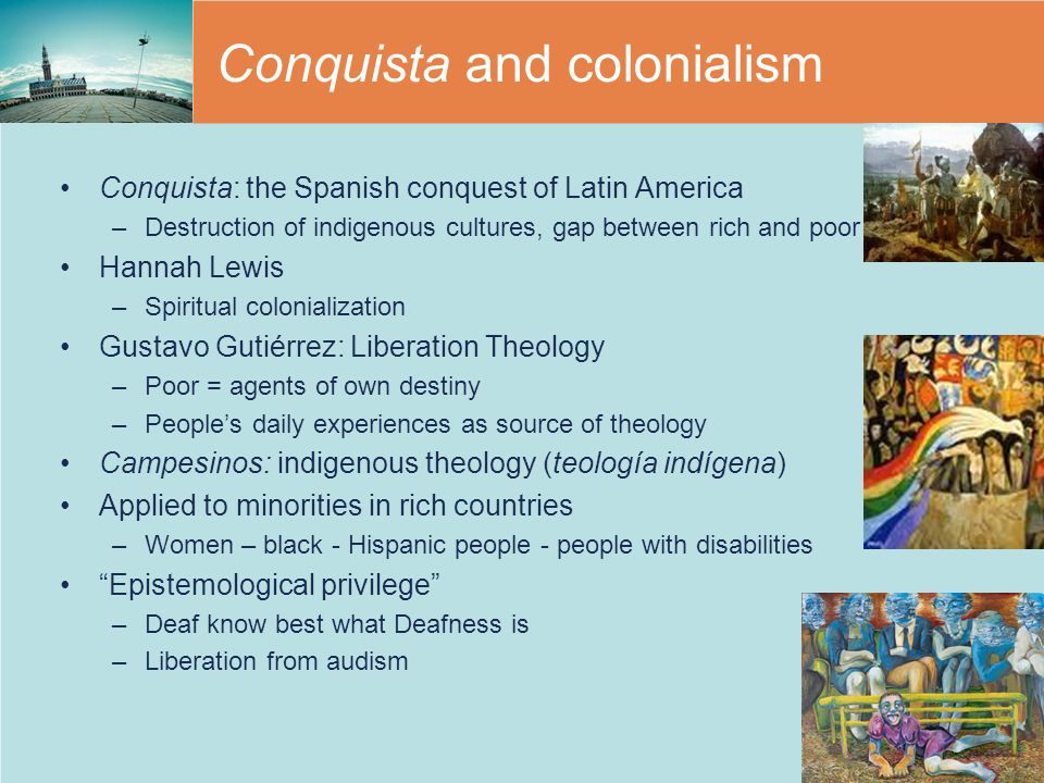 Conquista and colonialism