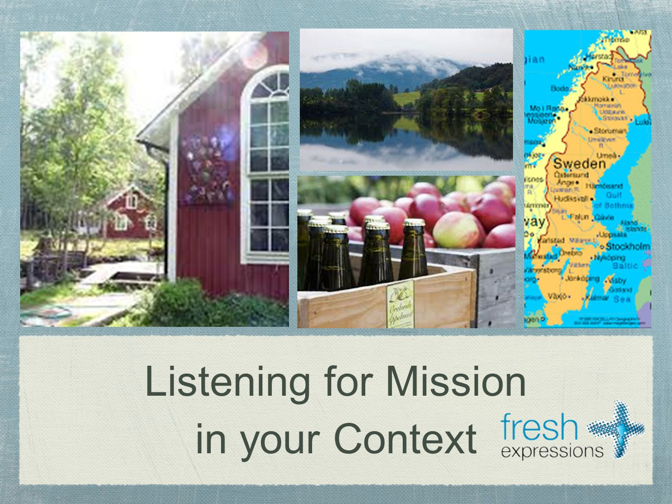 Listening for Mission in your Context