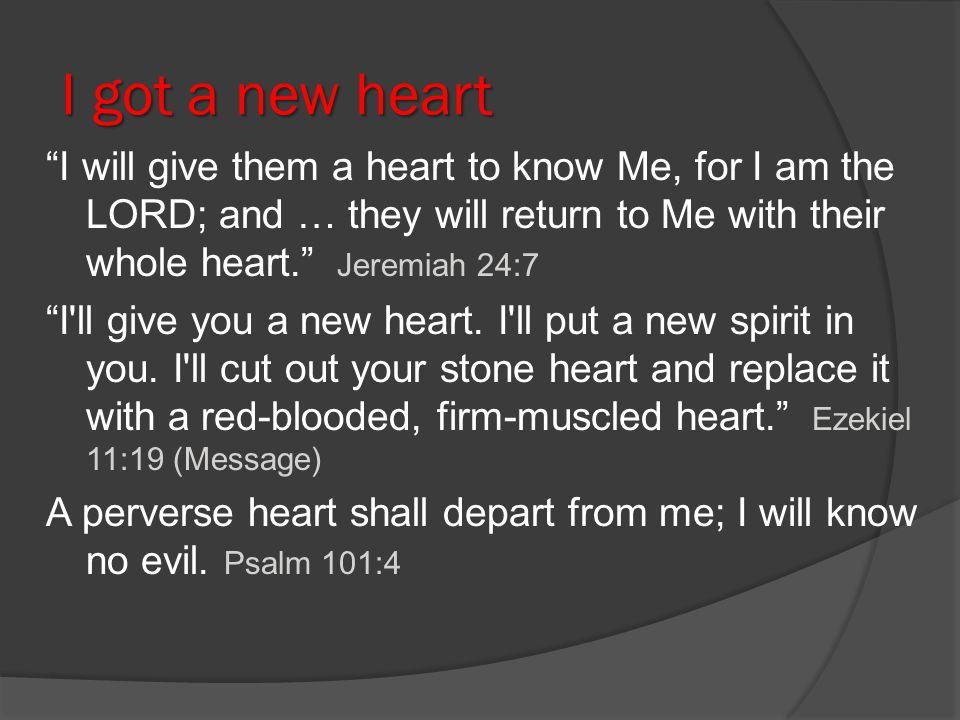 I got a new heart
