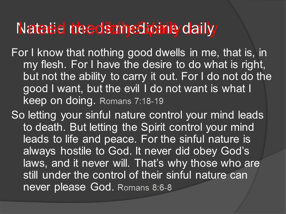 Natalie needs medicine daily