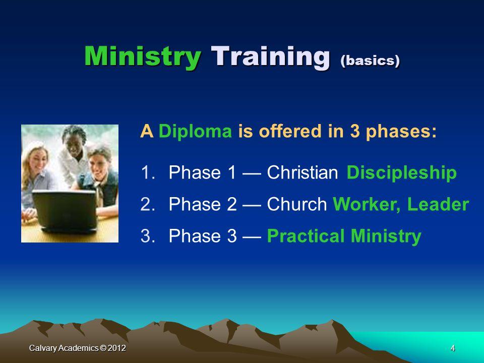 Ministry Training (basics)