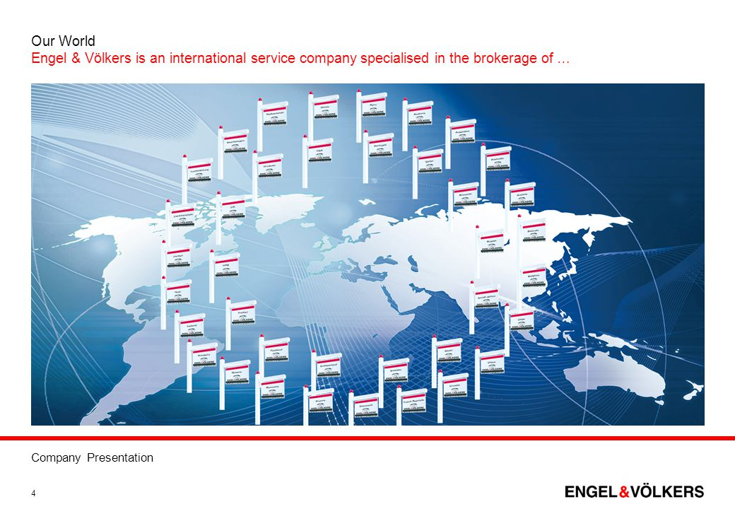Our World Engel & Völkers is an international service company specialised in the brokerage of …