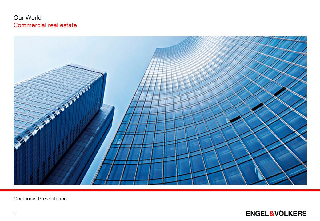 Our World Commercial real estate