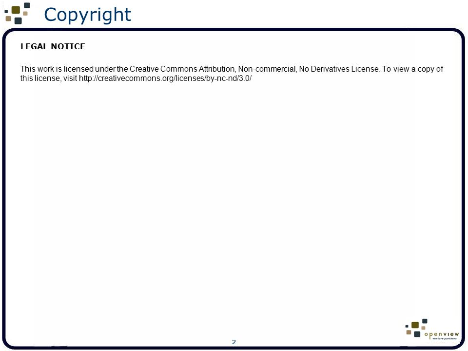Copyright LEGAL NOTICE
