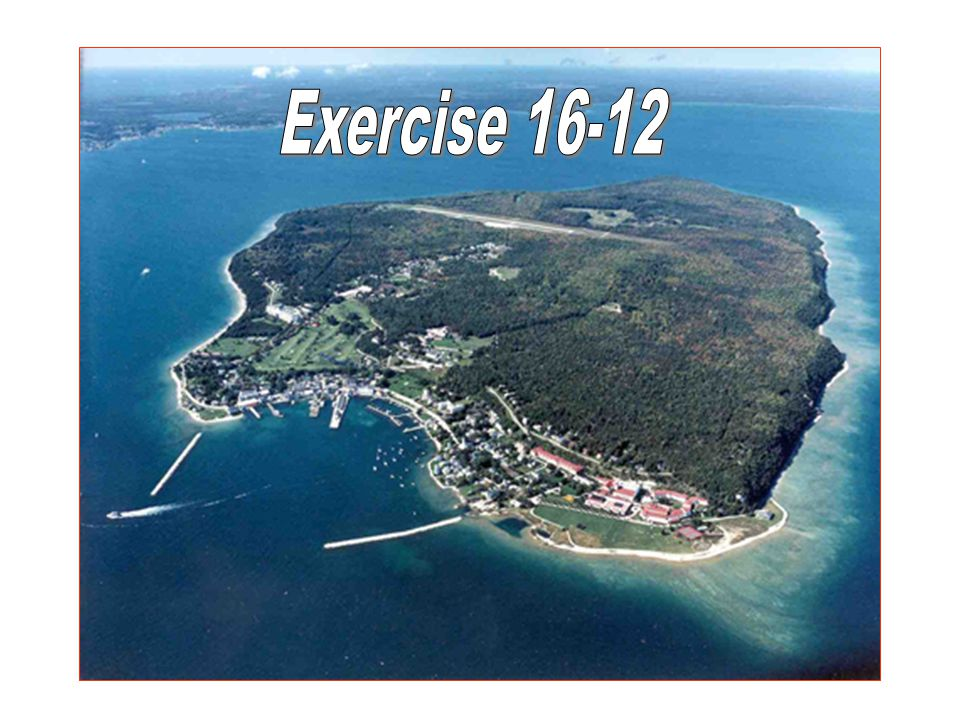 Exercise 16-12