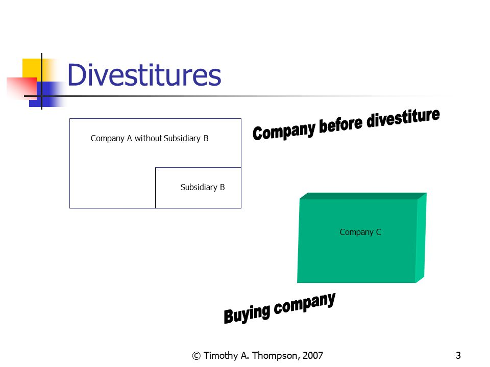 Company A without Subsidiary B