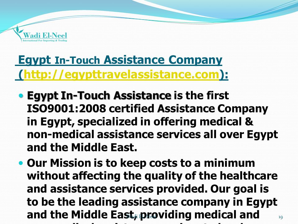 Egypt In-Touch Assistance Company (http://egypttravelassistance.com):