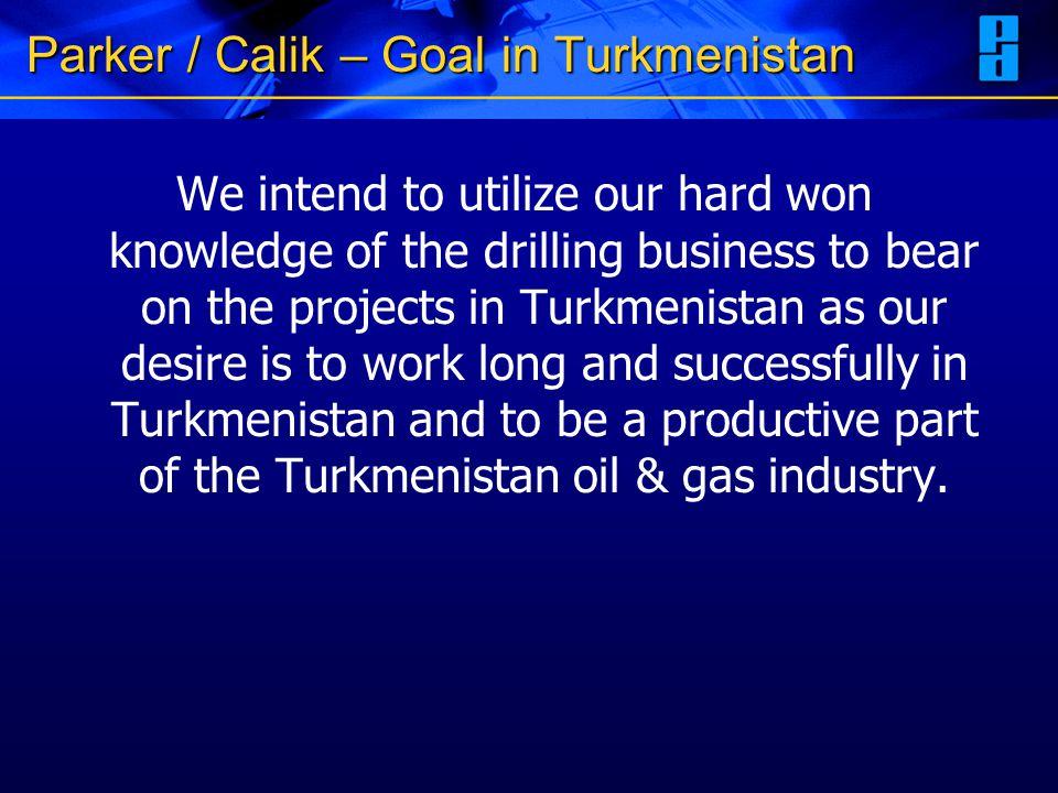 Parker / Calik – Goal in Turkmenistan
