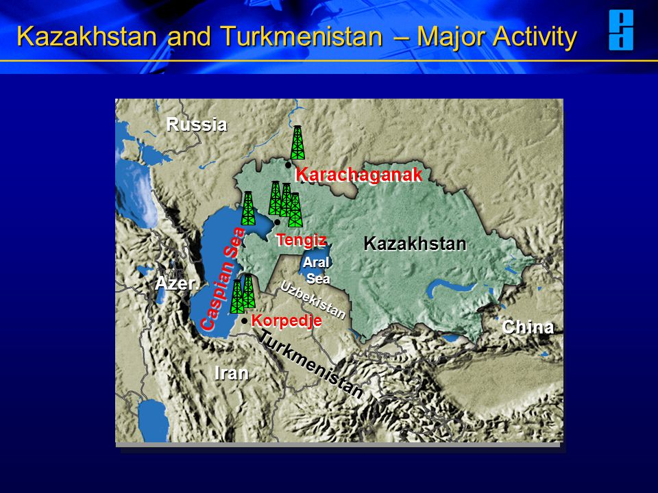 Kazakhstan and Turkmenistan – Major Activity