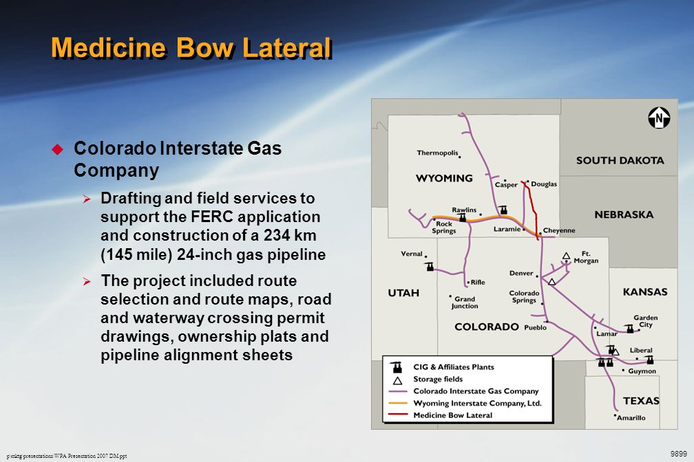 Medicine Bow Lateral Colorado Interstate Gas Company