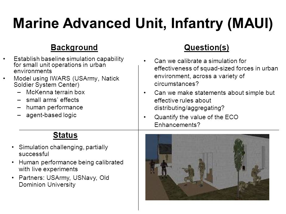 Marine Advanced Unit, Infantry (MAUI)
